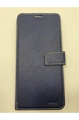 Hana  Wallet Case For Samsung  Galaxy  A20 - A30  Navy  Blue
