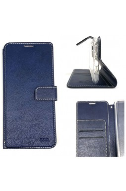 Genuine Molancano ISSUE Diary Stand Wallet Case For Samsung A71 6.7 inch  Navy Blue