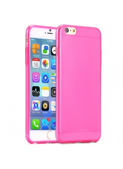 iPhone 6 Plus TPU Gel Case Cover - Hot Pink