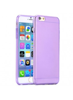 iPhone 6 Plus TPU Gel Case Cover - Purple